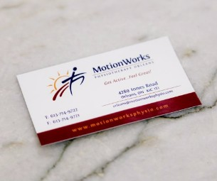 Contact Motion Works Orleans, Physiotherapist